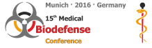 15th Medical Biodefense Conferenze 2016